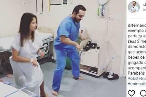 """Lekarz z Brazylii proponuje oryginalną metodę, która ma wspomóc poród. Sekretem jest taniec do """"Despacito"""""""