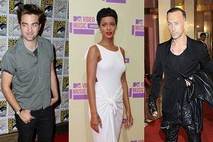 Robert Pattinson, Rihanna, Nergal.