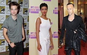 Robert Pattinson, Rihanna, Nergal
