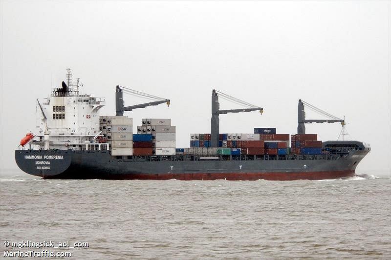 Statek Hammonia Pomerenia
