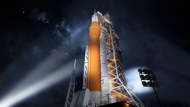 Rakieta SLS od NASA