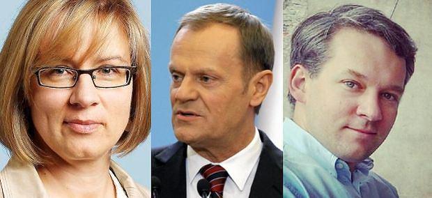 Agata Nowakowska i Michał Szułdrzyński uważają, że wydarzenia na Ukrainie mogą zwiekszyć szanse PO na sukces w wyborach do PE