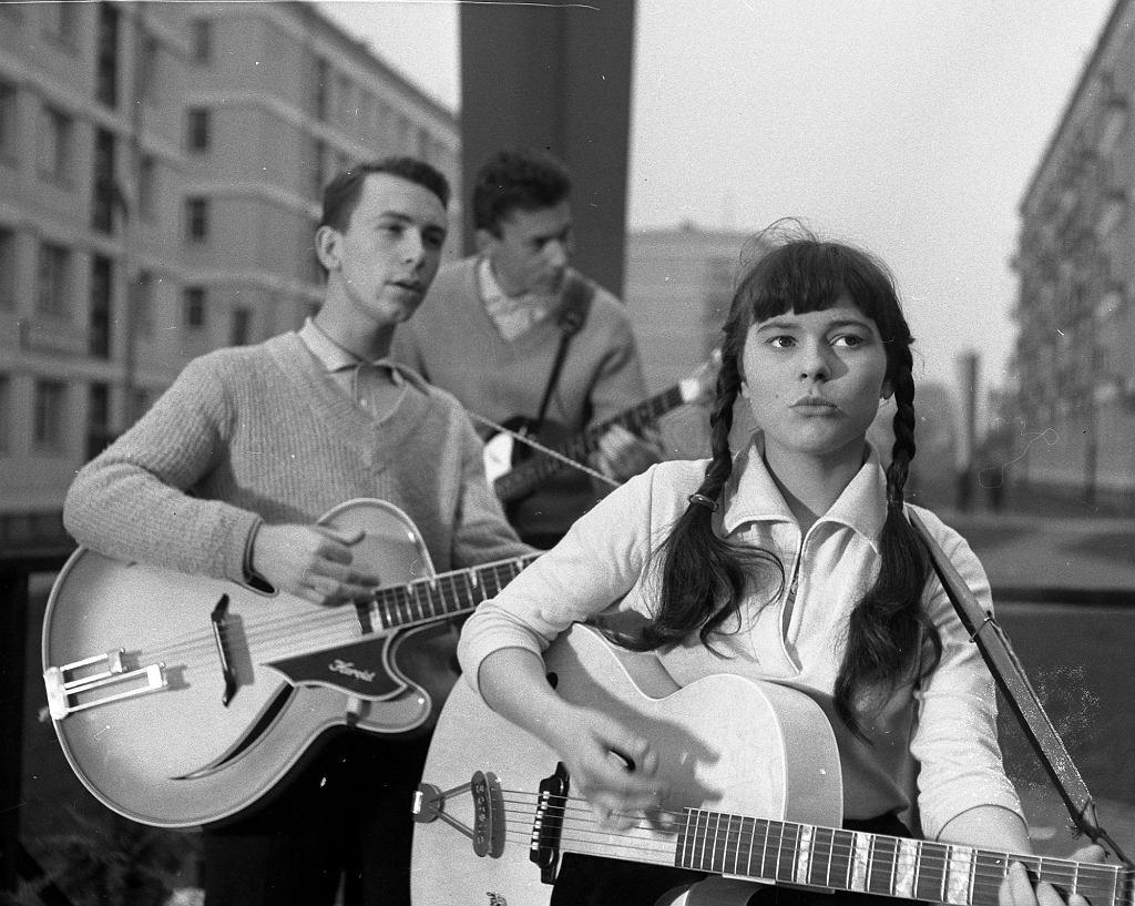 Karin Stanek w 1963 r.