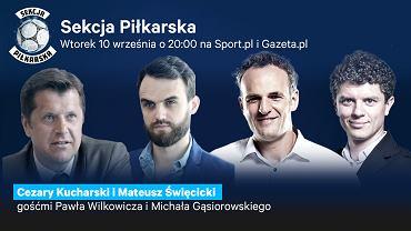 Cezary Kucharski i Mateusz Święcicki gośćmi Sekcji Piłkarskiej