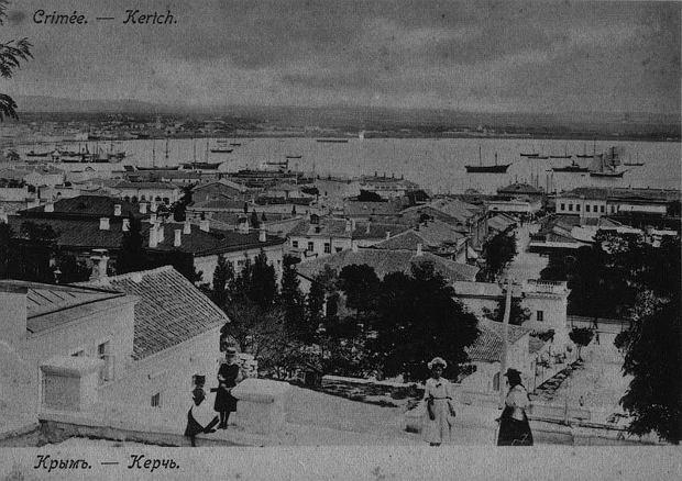 Kercz na początku XX w.