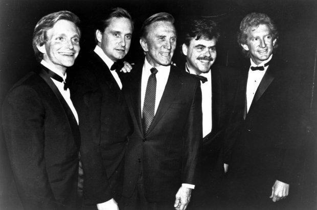 Eric Douglas, Michael Douglas, Kirk Douglas, Joel Douglas, Peter Douglas