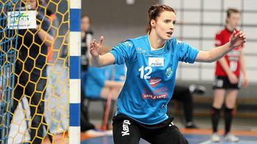 W akcji bramkarka MKS Selgros - Weronika Gawlik