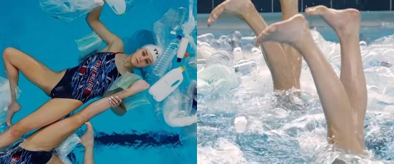 Swimming In It. Pływaczki synchroniczne w gąszczu plastikowych butelek
