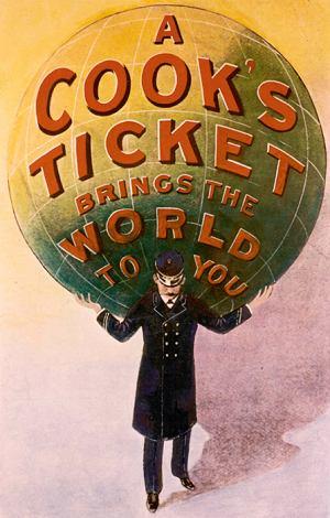 Thomas Cook: człowiek, który dał nam wakacje, wakacje, logo z klasą, Thomas Cook - plakat