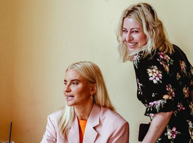 Joanna Horodyńska i Natalia Hołownia