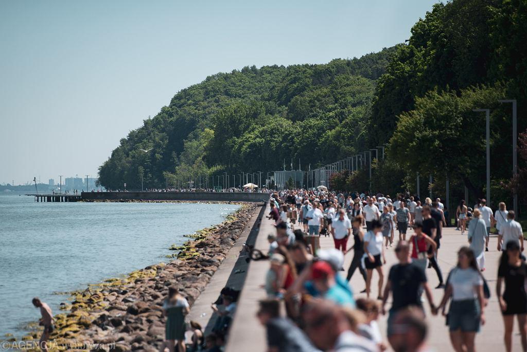 Tłumy w Gdyni