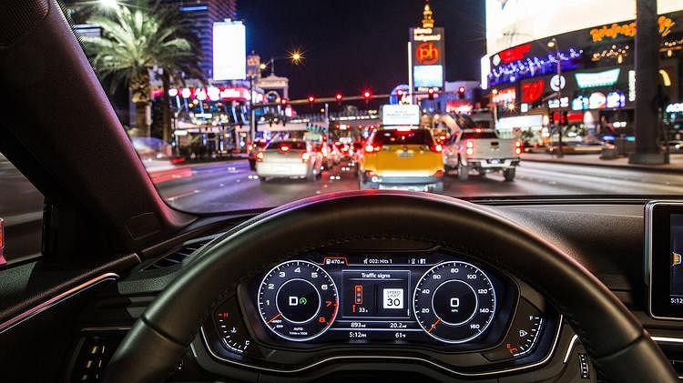 Audi skrzyżowania, licznik