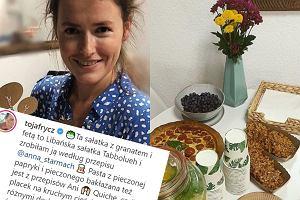 Olga Frycz sama przygotowała jedzenia na przyjęcie córki. W menu libańska sałatka i ciasta Bohosiewicz. Proste i zdrowe!