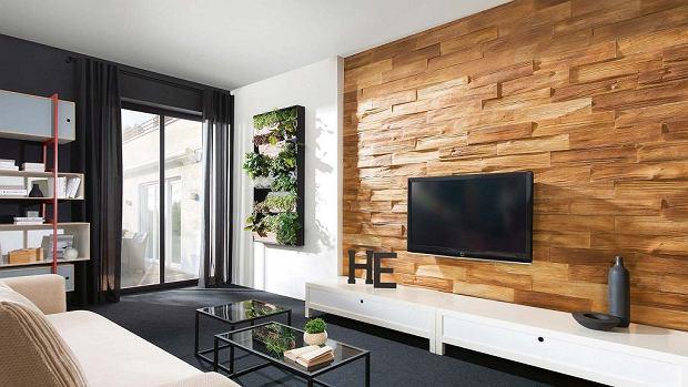 Najnowsze Ściany w salonie. 12 pomysłów na modną dekorację ściany w salonie GZ65