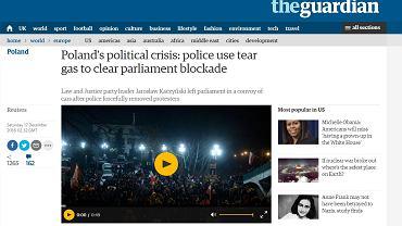 Artykuł w serwisie 'Guardiana'