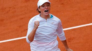 Iga Świątek po wygraniu Rolanda Garrosa