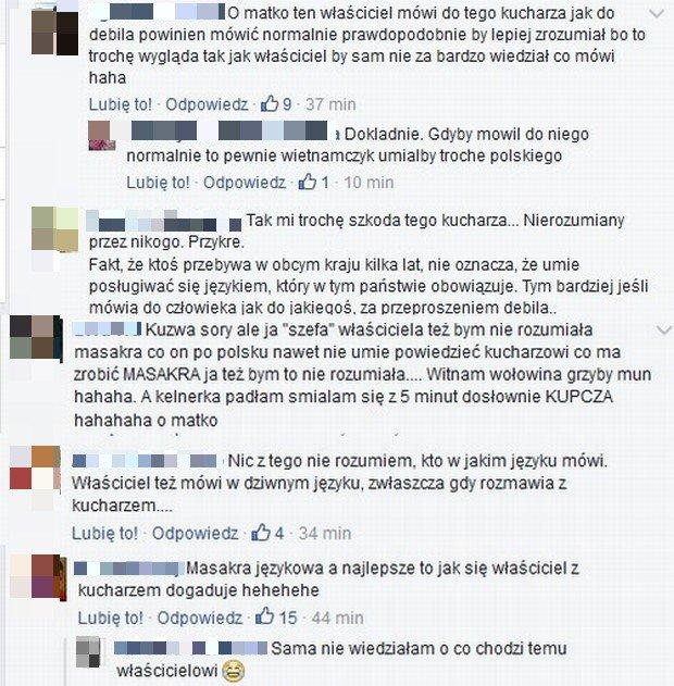 Komentarze na profilu Kuchennych rewolucji