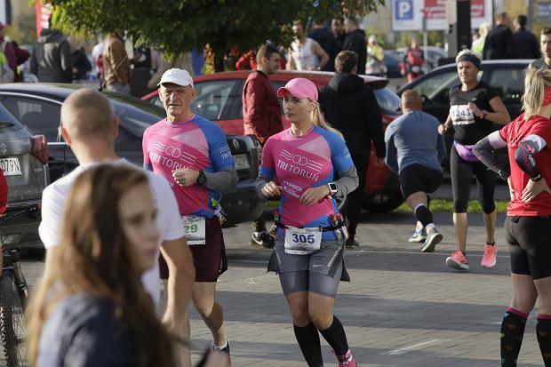 Zdjęcie numer 4 w galerii - Ponad 1200 biegaczy na starcie 37. Toruń Maraton, wygrał Łukasz Oskierko [ZDJĘCIA]