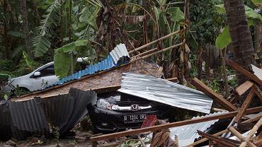 Indonezja: Zniszczenia po tsunami