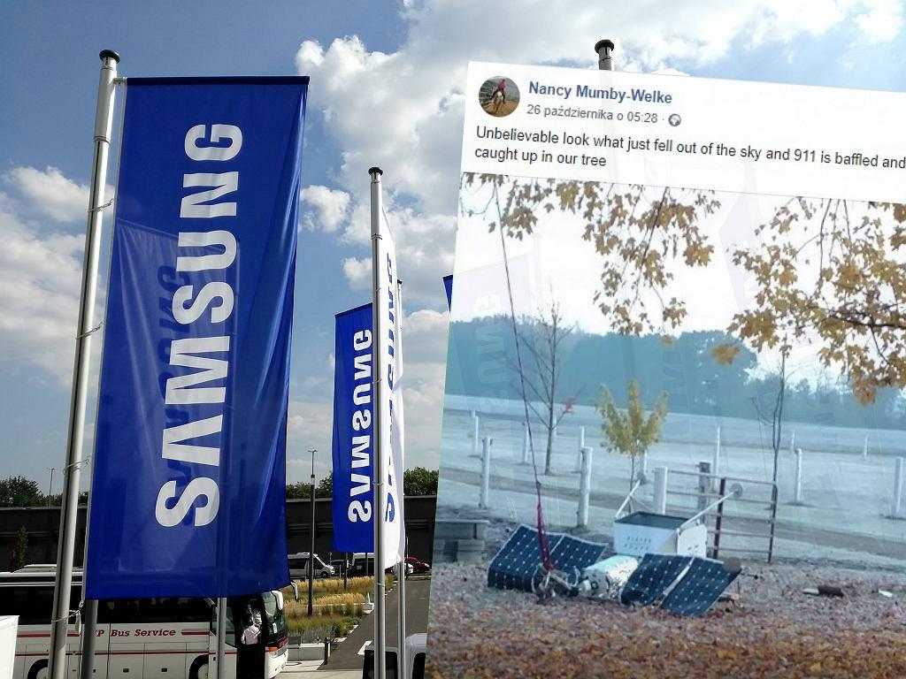 Satelita Samsunga spadł w USA