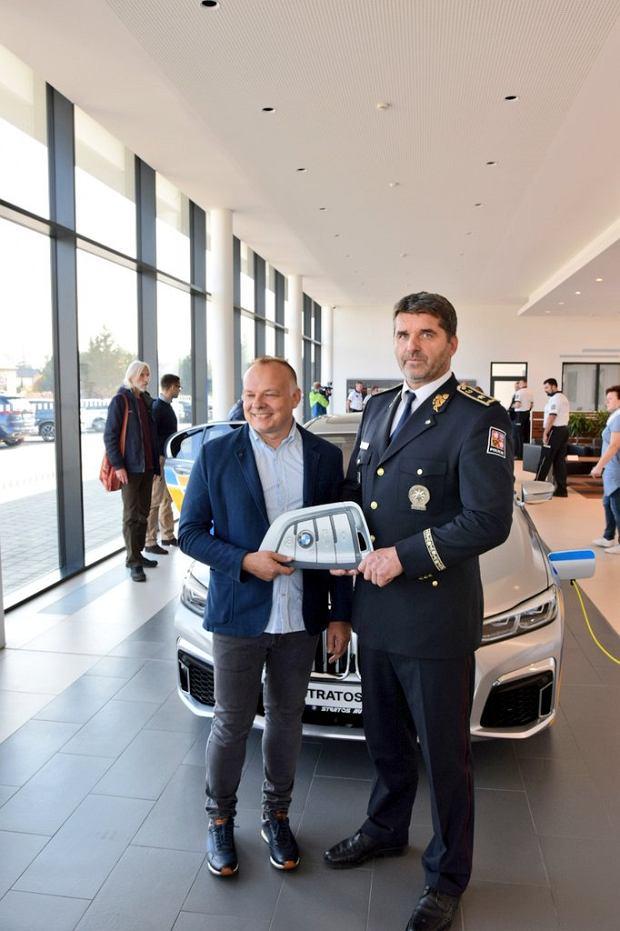 BMW 745Le w szeregach czeskiej policji