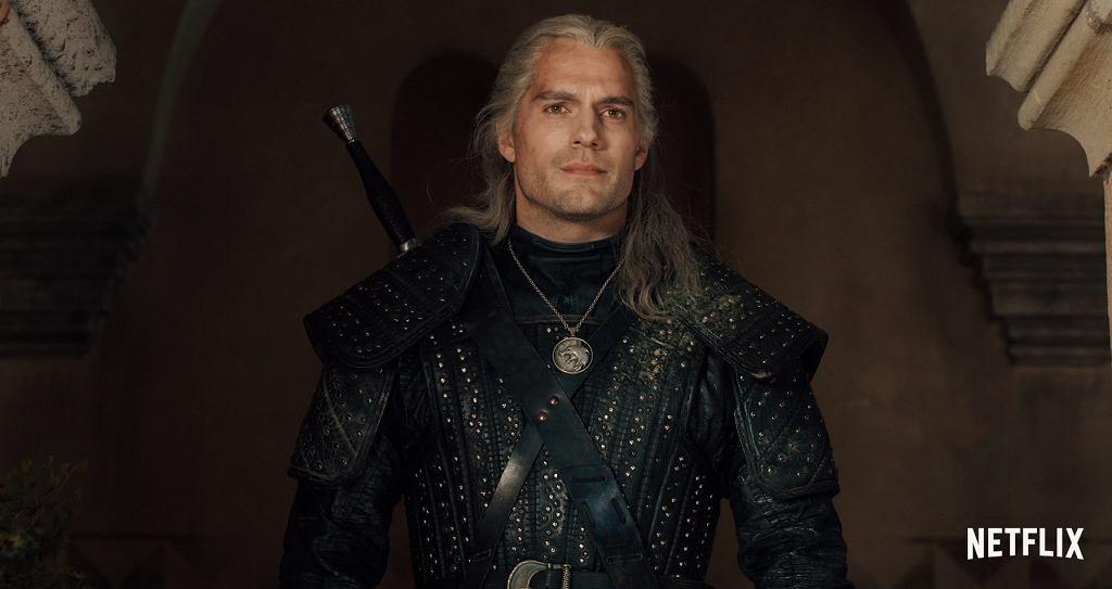 Henry Cavill jako Wiedźmin Geralt w serialu 'Wiedźmin'