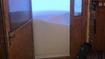 Zima na Kasprowym Wierchu. Zdjęcie zostało zrobione w Wysokogórskim Obserwatorium IMGW PIB.