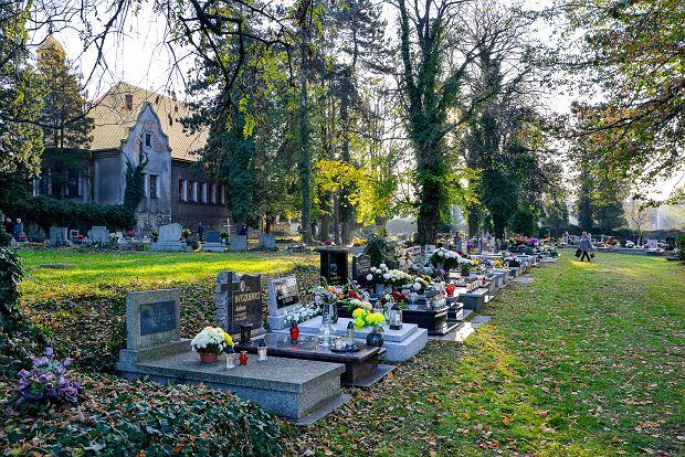 Zdjęcie numer 12 w galerii - 1 listopada w Bielsku-Białej. Kwiaty, wieńce i znicze na grobach [ZDJĘCIA]