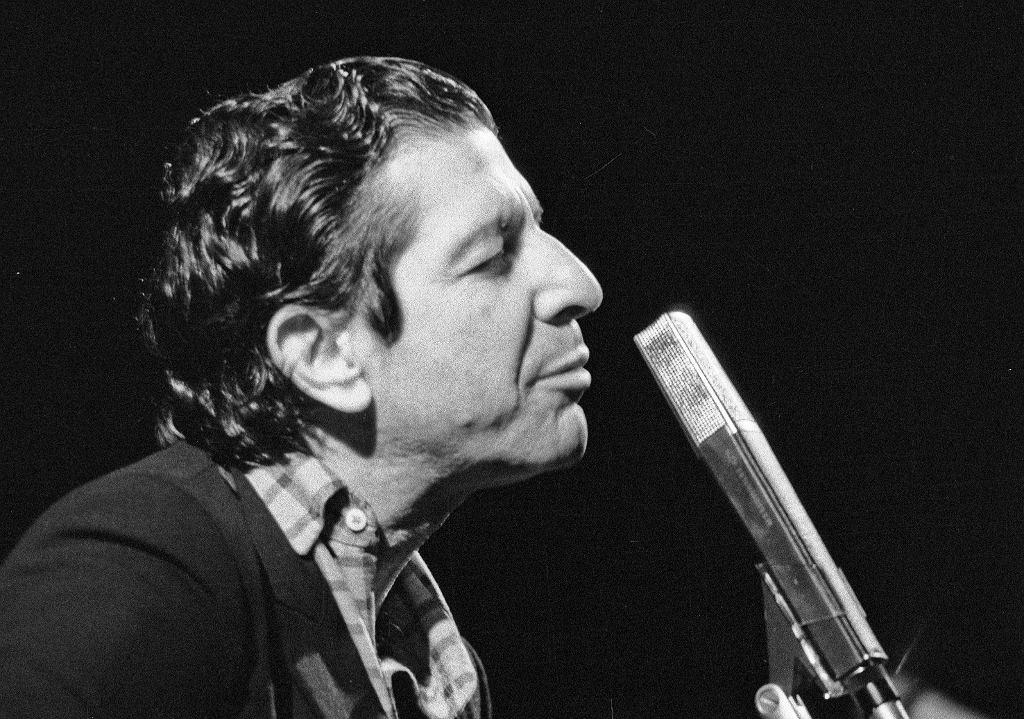 16.03.1985 Warszawa , Sala Kongresowa , koncert Leonarda Cohena