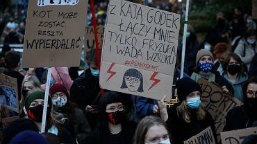 Strajk kobiet - Warszawa