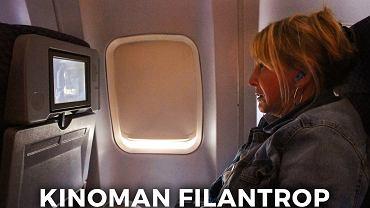 Kinoman Filantrop jest przekonany, że cały samolot chce oglądać z nim film