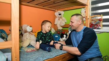 Tomasz Penczonek, tato, którego dziecko jest w programie opieki wytchnieniowej Fundacji Wrocławskie Hospicjum dla Dzieci