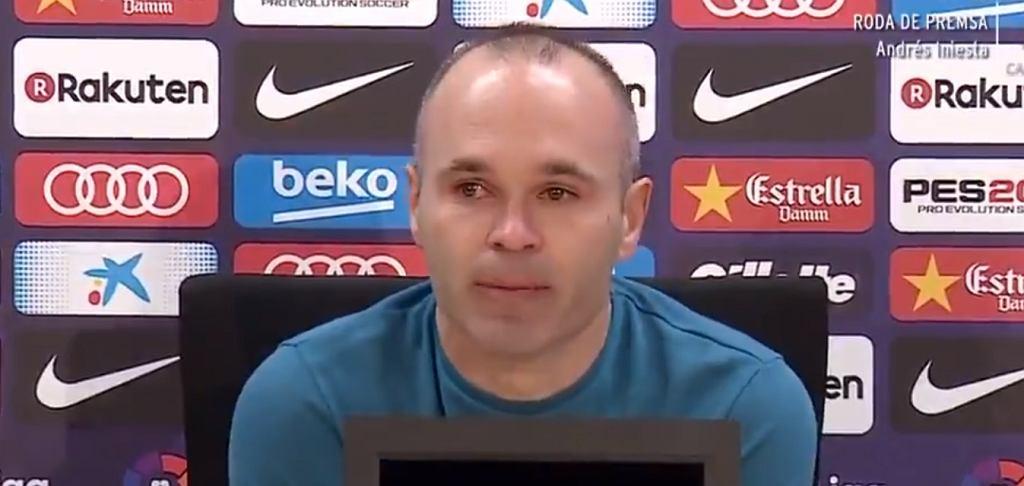 Andres Iniesta odchodzi z Barcelony