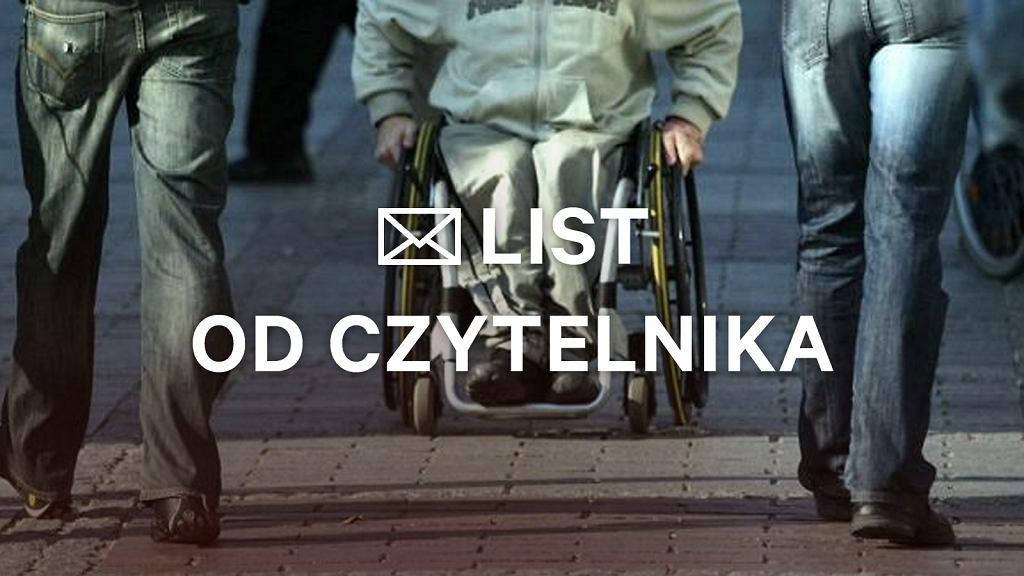 Piszą do nas opiekunowie niepełnosprawnych dorosłych - rodziców i dziadków