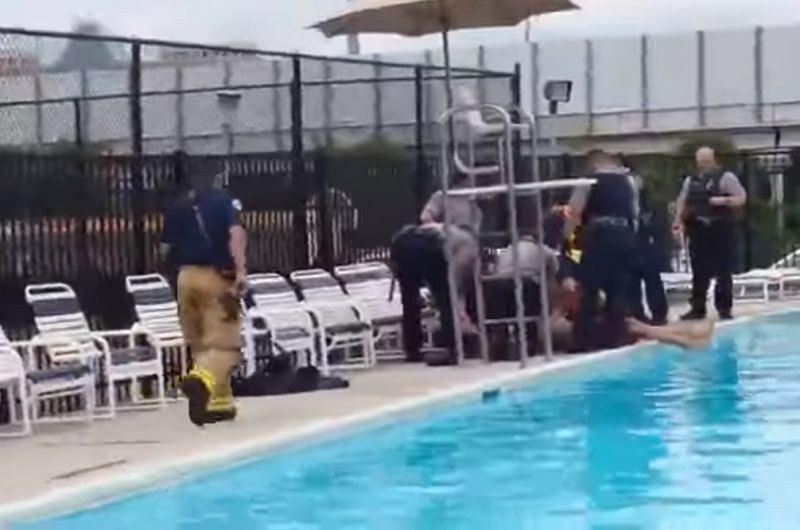 Incydent na basenie