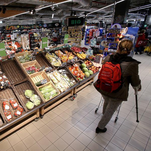 Supermarket w Szczecinie