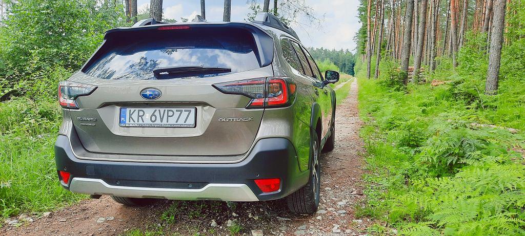 Test Subaru Outback - Logo24.pl