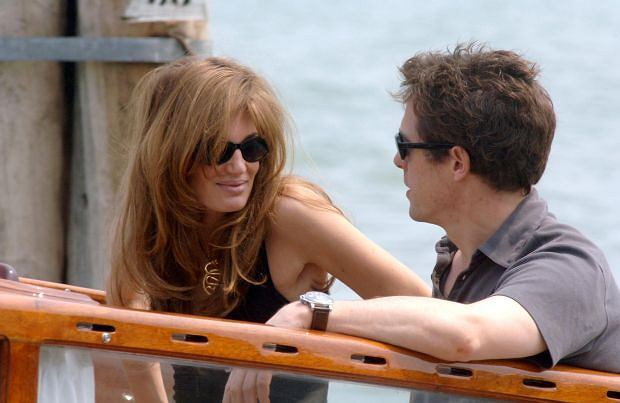 Jemima Goldsmith i Hugh Grant
