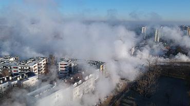 Awaria ciepłownicza na Powsińskiej