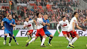 Polska - Słowacja 0:2. W środku Marcin Kamiński i Martin Skrtel