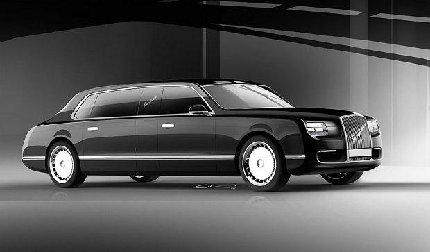 Kortez   Luksusowy SUV od Putina