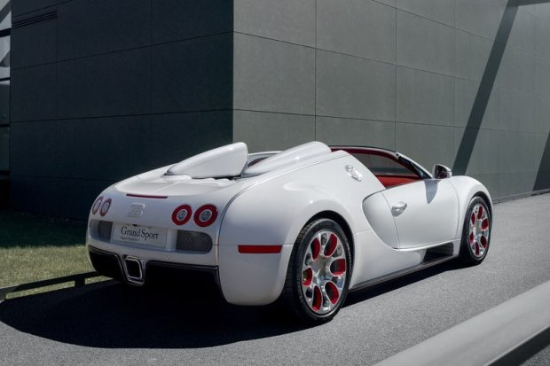 Bugatti Veyron Grand Sport Wei Long 2012