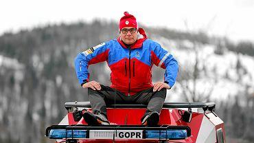 Jerzy Siodłak, naczelnik Grupy Beskidzkiej GOPR
