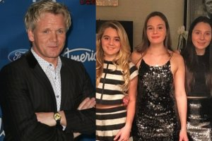 Gordon Ramsay z córkami