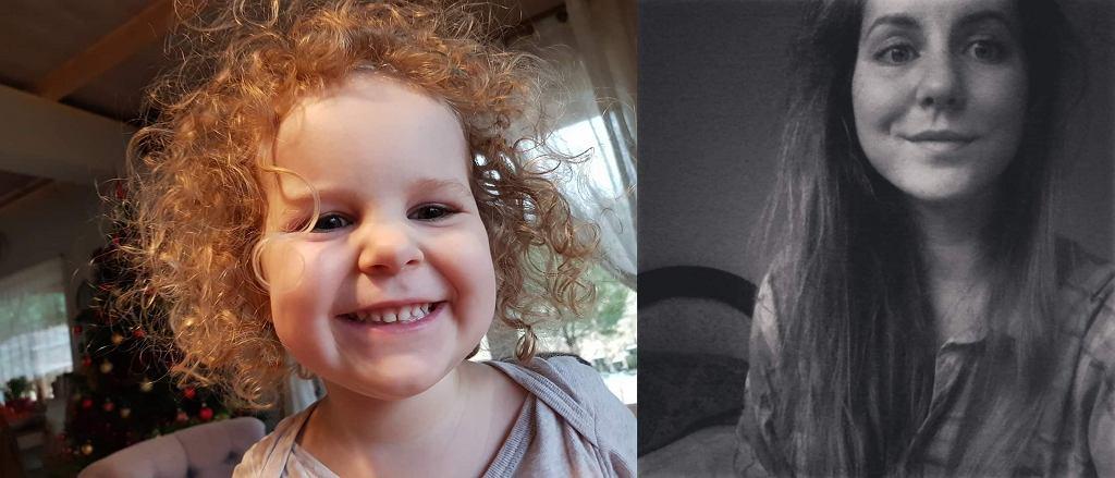 Porwanie w Białymstoku. 3-letnia Amelka i 25-letnia Natalia