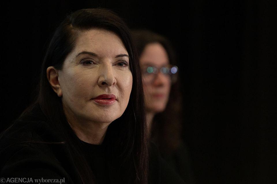 Marina Abramović w Toruniu. Otwarcie wystawy 'Do czysta' w CSW, 7 marca 2019