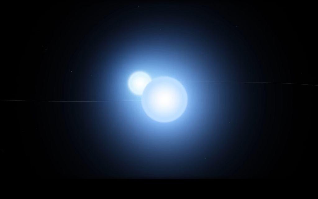 Gwiazda podwójna Thuban