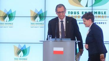 Min. Jan Szyszko i premier Beata Szydło