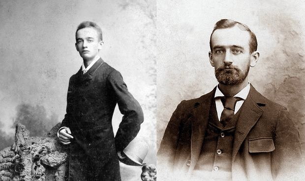 Frederick Trump w 1887 i 1918 r. Jego wnukiem jest Donald Trump