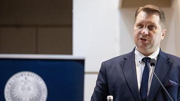 Katolicki Uniwersytet Lubelski. Minister edukacji Przemysław Czarnek wygłosił wykład podczas uroczystej inauguracji nowego roku akademickiego